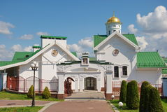 Minsk. Cathedral of Holy Spirit in Minsk Stock Image