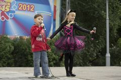 Minsk City Holiday: 945 years, 9 September 2012 Royalty Free Stock Image