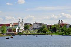 Minsk cityscape Stock Image
