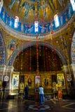 Minsk Elisabeth klasztoru Świątobliwy wnętrze obraz stock