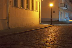 Minsk at evening time. Royalty Free Stock Image