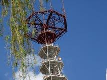 Minsk-Fernsehturm von Fernsehen und von Rundfunk stockfotos