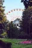 Minsk Ferris Wheel Behind o obervatório foto de stock