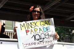 Minsk Gay Parade Stock Photo