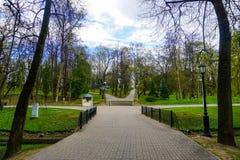 Minsk Gorky Park stock images
