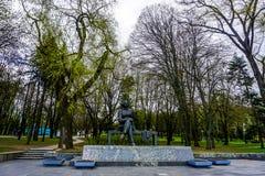Minsk Gorky Park Statue royalty free stock photos