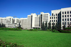 Minsk government palace Royalty Free Stock Photography