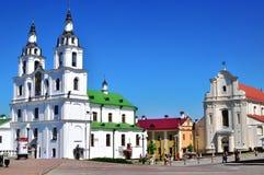 Minsk historical centre, Belarus Stock Photo