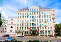 Minsk Hotel Europe,  Belarus Royalty Free Stock Images