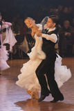 Minsk - January,15: Dance couple, standard program Stock Image