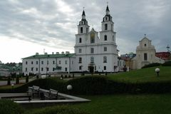 minsk Kathedraal van de Afdaling van de Heilige Geest stock afbeelding