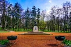 Minsk Marat Kazei lizenzfreie stockfotos