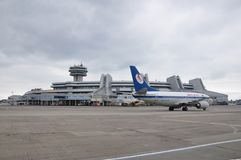 Minsk National Airport stock image