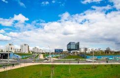 Minsk nationellt arkiv royaltyfri foto