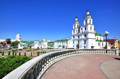 Minsk old town Royalty Free Stock Image