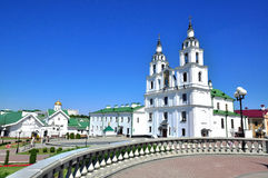 Minsk old town Stock Photos