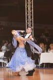 Minsk opent kampioenschap 2011 IDSF Dancesport Stock Foto