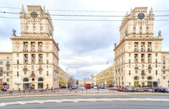 minsk Poorten van de Stad royalty-vrije stock foto
