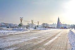 Minsk. Prospect Winners Royalty Free Stock Photos