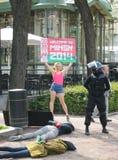 minsk protest som ska välkomnas Fotografering för Bildbyråer