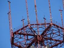 Minsk radioutsändningtorn nära arkivbilder