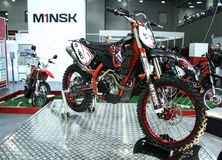 Minsk RX450 motocross bike Stock Photos