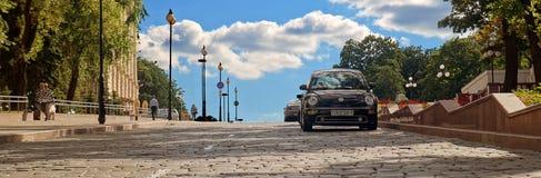 Minsk& x27; s-gata Royaltyfria Foton