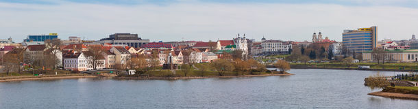 Minsk's historical centre Stock Photos