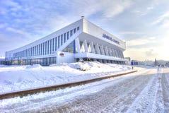 minsk Sportpalast auf Boulevard von Siegern Lizenzfreie Stockbilder