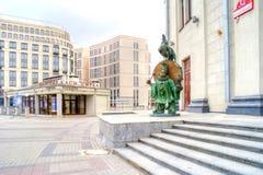 Minsk, stadscircus stock afbeeldingen