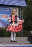 Minsk stadsferie: 945 år 9 September 2012 royaltyfria foton