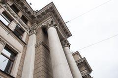 Minsk stolpe - kontor Arkivbild