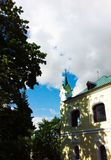 Minsk, summer in the city, beautiful old building Stock Photo