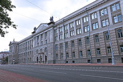Minsk Suvorov military school Royalty Free Stock Images