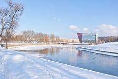 minsk Svislach-Fluss Lizenzfreie Stockfotografie