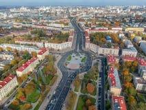 Minsk, Vitryssland royaltyfri bild
