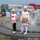 Minsk Vitryssland: Ishockeyvärldsmästerskap 2014 Royaltyfri Fotografi