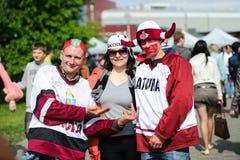 MINSK VITRYSSLAND - MAJ 10, 2014: Världsishockeymästerskapet Royaltyfri Fotografi