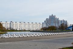 Minsk, Weißrussland - November 05,2017: Prestigevoll stockbilder
