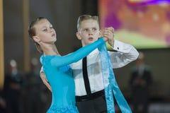 Minsk, Weißrussland 26. September 2015: Zakharchenko Oleksiy und Vasi Stockbild