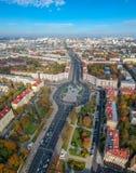 Minsk, Wit-Rusland royalty-vrije stock foto's