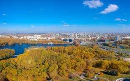 Minsk, Wit-Rusland stock afbeelding