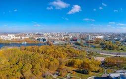 Minsk, Wit-Rusland stock foto's