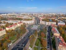 Minsk, Wit-Rusland royalty-vrije stock foto