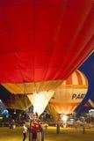 Minsk-Wit-Rusland, 19 Juli, 2015: Internationale lucht-Ballons tijdens Royalty-vrije Stock Afbeelding
