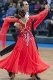 Minsk-Wit-Rusland, 16 Maart: Seleznev Andrey – Inna Selezneva per Royalty-vrije Stock Foto's