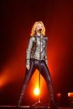 MINSK, WIT-RUSLAND - MEI 20: Shakira presteert bij Minsk-Arena op 20 Mei, 2010 in Minsk, Wit-Rusland Stock Afbeelding