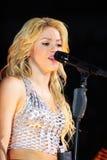 MINSK, WIT-RUSLAND - MEI 20: Shakira presteert bij Minsk-Arena op 20 Mei, 2010 in Minsk, Wit-Rusland Stock Foto's