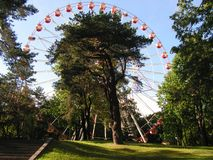 Minsk Witrussisch Maxim Gorky Park stock afbeelding