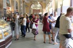 Minsk, Witrussische restauranthouder Centralniy stock afbeelding